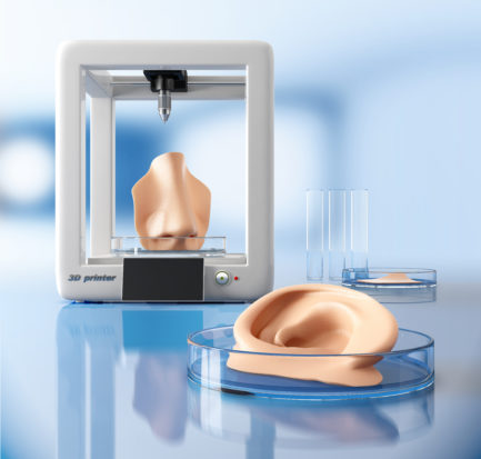 bioprinting of tissues and organs